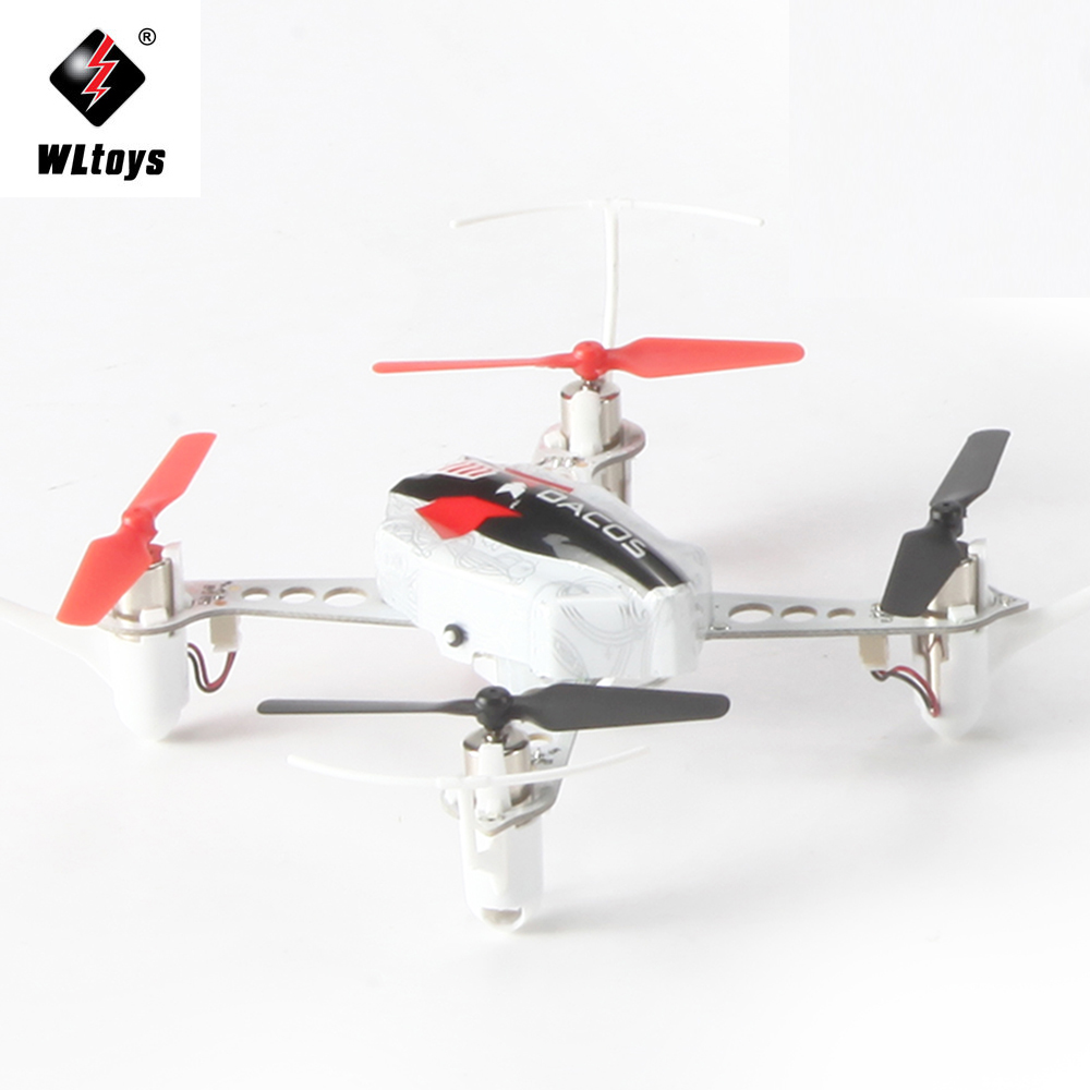 2017 New WLTOYS X100 Drone 3D 6G Mode Inverted Flight 2.4G 4CH 6 Axis LED RC Quadcopter Mini Drone xk x100 with 3d 6g mode inverted flight 2 4g 4ch 6 axis led rc quadcopter bnf and rtf