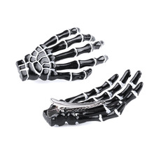 1 pair of Fashion Hair Accessories Skeleton Claws Skull Hand Hair Clip For Women