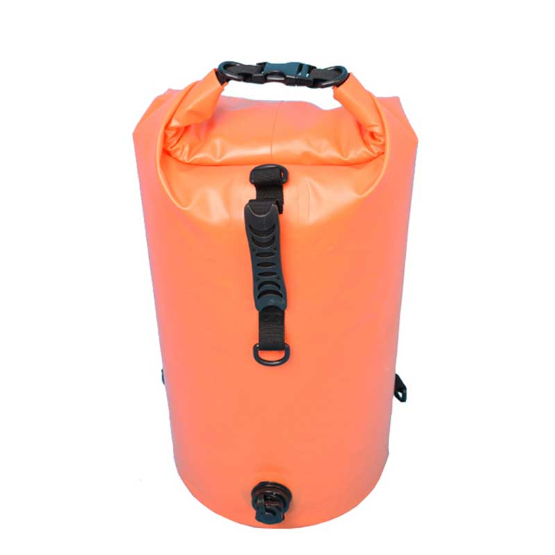 Roll Top Dry Compression Sack Outdoor Gear 30L Dry Bag with Air Valve Inflation for Boating Kayaking Canoeing Rafting Fishing 30l waterproof dry bag backpack laptop bag roll top for outdoor trekking hiking water sports kayaking camping fishing boating
