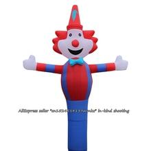 3D красный синий клоун воздушный танцор небо танцор надувная трубка клоун танец Кукла ветер надувной рекламный надувной для 18 ''воздуходувки