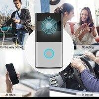 Door Bell WIFI Home Intelligent Network Wireless Video Smart Doorbell Night Vision Motion Detection Phone Intercom Doorbell US