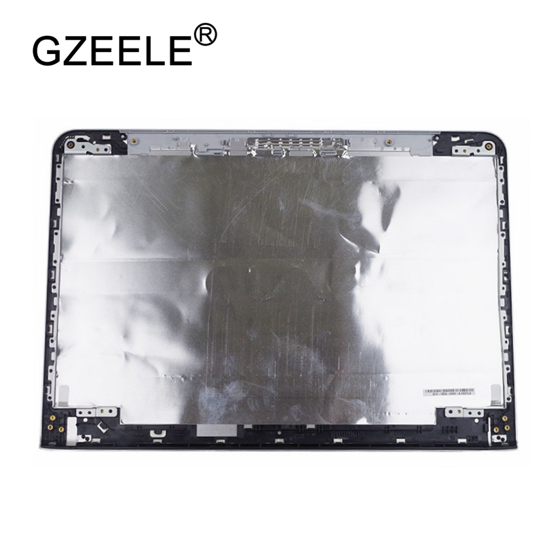 GZEELE NEW Laptop Top LCD Back Cover case for SONY vaio SVE14 SVE14A SVE14AE13L SVE14AJ16L SVEA100C non-touch silver SVE14AA11T 90% lcd top cover for sony vaio svf152c29v svf153a1qt svf152100c svf1521q1rw cover no touch