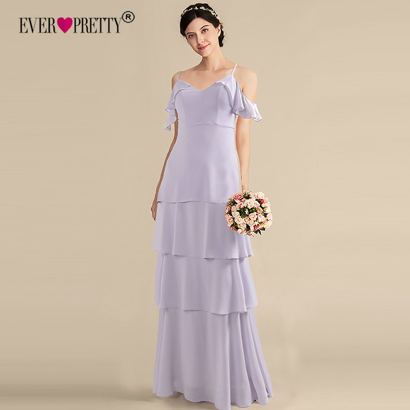 Burgundy Bridesmaid Dresses Ever Pretty Off Shoulder Ruffles Elegant Dress Women For Wedding Party Gowns Vestidos De Madrinha