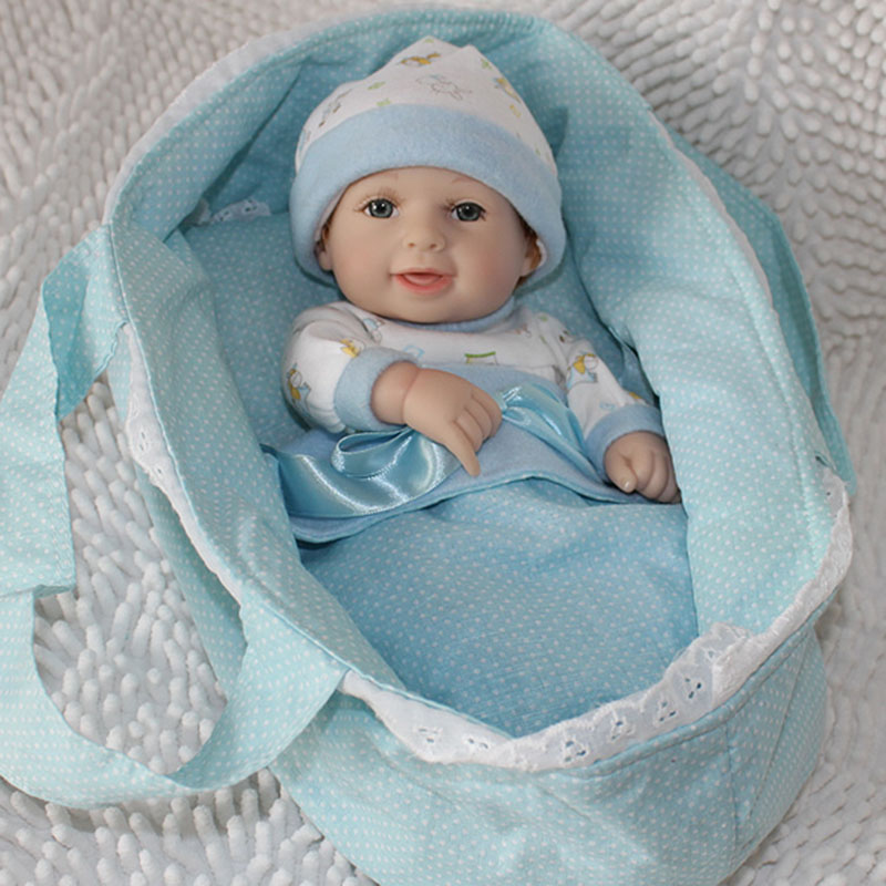 mini renorn baby dolls full silicone lifelike shower living bebe doll