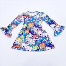 Robe dautomne et dhiver pour petites filles
