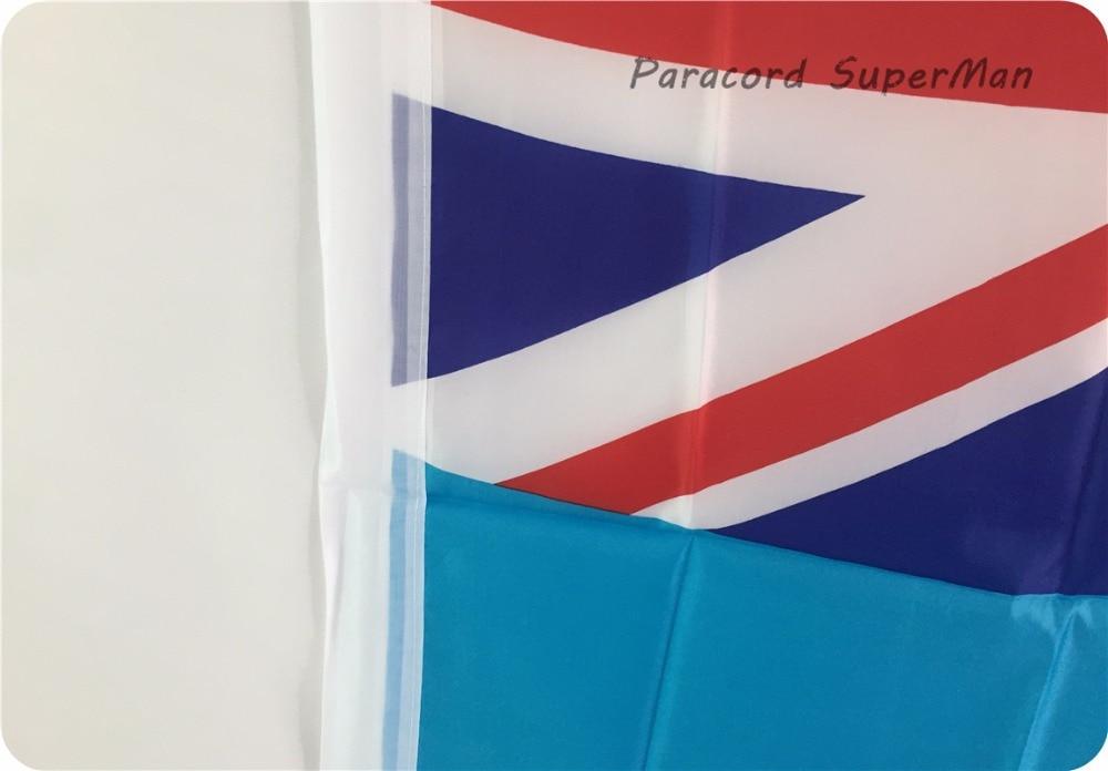 Fici FLAG BANNER 3 x5ft asma poliester Fiji Island Banner Bayraq - Komanda idman növləri - Fotoqrafiya 5