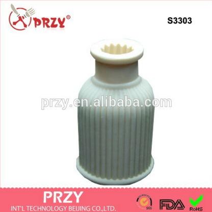 PRZY Gel de sílice Molde de silicona Jarrón 3d molde de jabón de - Cocina, comedor y bar