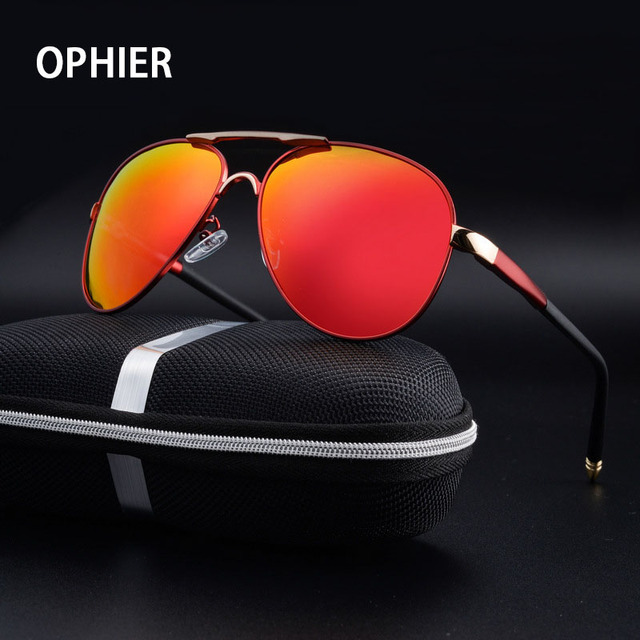 OPHIER Classic Brand Designer Sunglasses Men Polarized Coating Sunglasses Male Driving Mirrors Sun Glasses for Men oculos de sol
