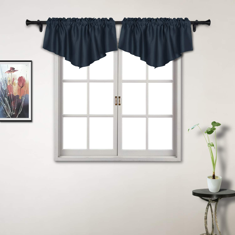 Suo Ai Textile Scalloped Valances Blackout Valances Curtains For