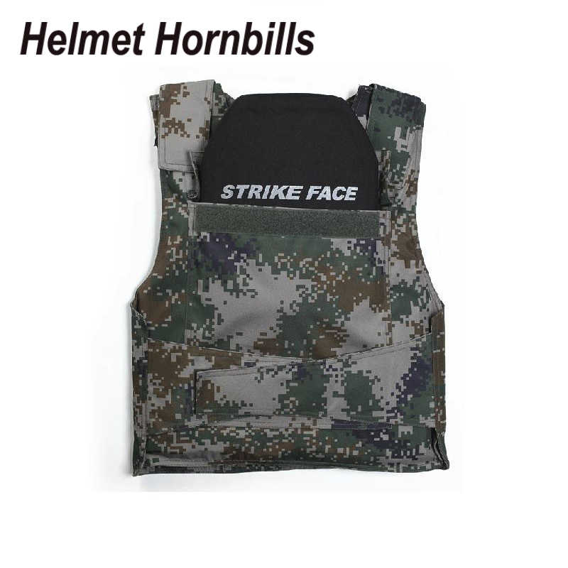Helmet Hornbills 2pcs/Lot SIC&PE Level IV Bulletproof Panel/Level 4  Ballistic Panel/Level 4 Body Armor Plates Free Shipping