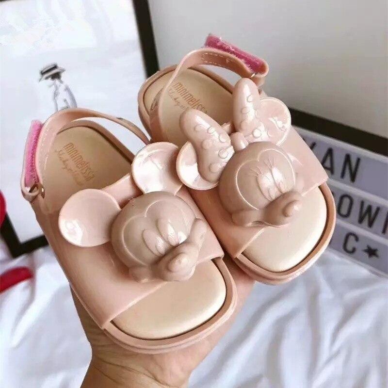 Mini Melissa Cosmic Sandal Mickey 2020 Original Girl Jelly Sandals Boys Kids Sandals Children Beach Shoes Toddler Shoes