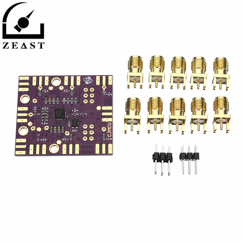 цена на CJMCU-5351B Si5351B Clock Signal Generator Module I2C Programmable 27MHz +VCXO
