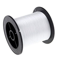 500m 1000m 1500m 2000m White PE Braided Fishing Line 4 Strands 100lb Saltwater Carp Fishing Lines