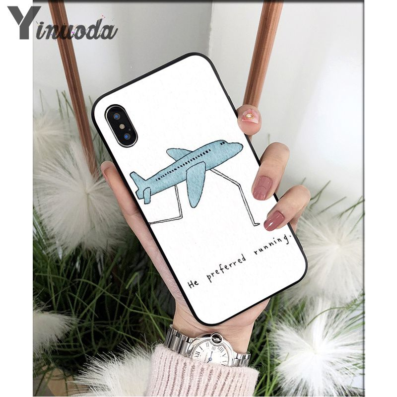 Simple and lovely cartoon pattern air plane