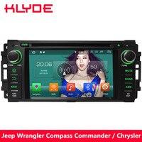 KLYDE 4 г Android 8,0 Octa Core 4 ГБ Оперативная память DVD мультимедиа плеер для Jeep Patriot Liberty Wrangler Unlimited компас Commander