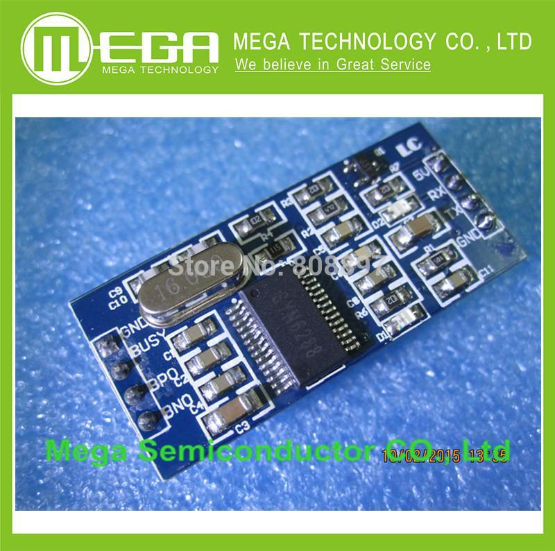 1pcs SYN6288 TTS voice module speech synthesis module text to sound module