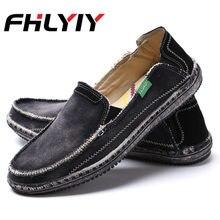 0d51b322a Мужская обувь, большие размеры 47, парусиновая обувь, Осенние лоферы на  плоской подошве,