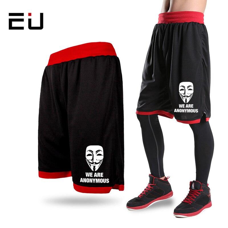 Prix pour Mens Basketball Shorts Hommes Entraînement Shorts Plus La Taille de Basket-Ball Jersey de Course Formation Sport Basket-Ball Shorts Poches pour Hommes