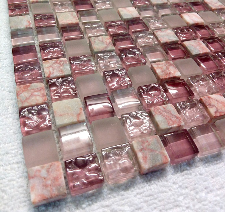 Acquista all\'ingrosso Online viola mosaico di piastrelle da ...