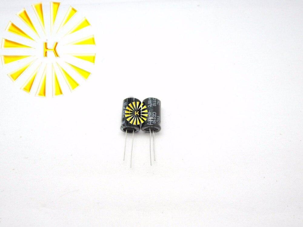 200pcs X 100% New 10UF 450V 13X20 Aluminum Electrolytic Capacitor