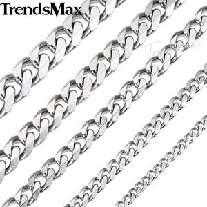 Trendsmax Stainless Steel Men Women Gold Silver Jewelry
