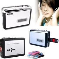 New Ezcap Vecchie Cassette tape to MP3 converter USB Flash Drive U Disco, Lettore Walkman, con auto-reverse, trucioli Metallici, NESSUN PC Necessario