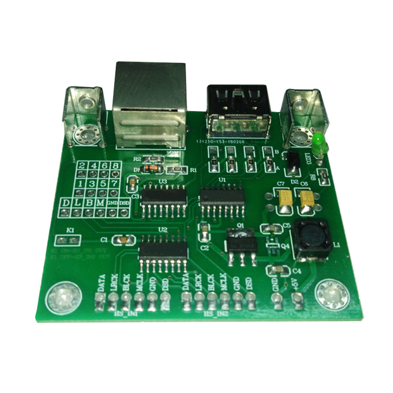 2way IIS (I2S) Signal To HDMI And RJ45 IIS To HDMI I2S To RJ45 Signal Conversion Board