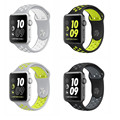 Cheapest Soft Silicone Sport Band For Apple Watch Series1 Series 2 Replacement Strap for Apple iWatch Nike Sport Band 42mm