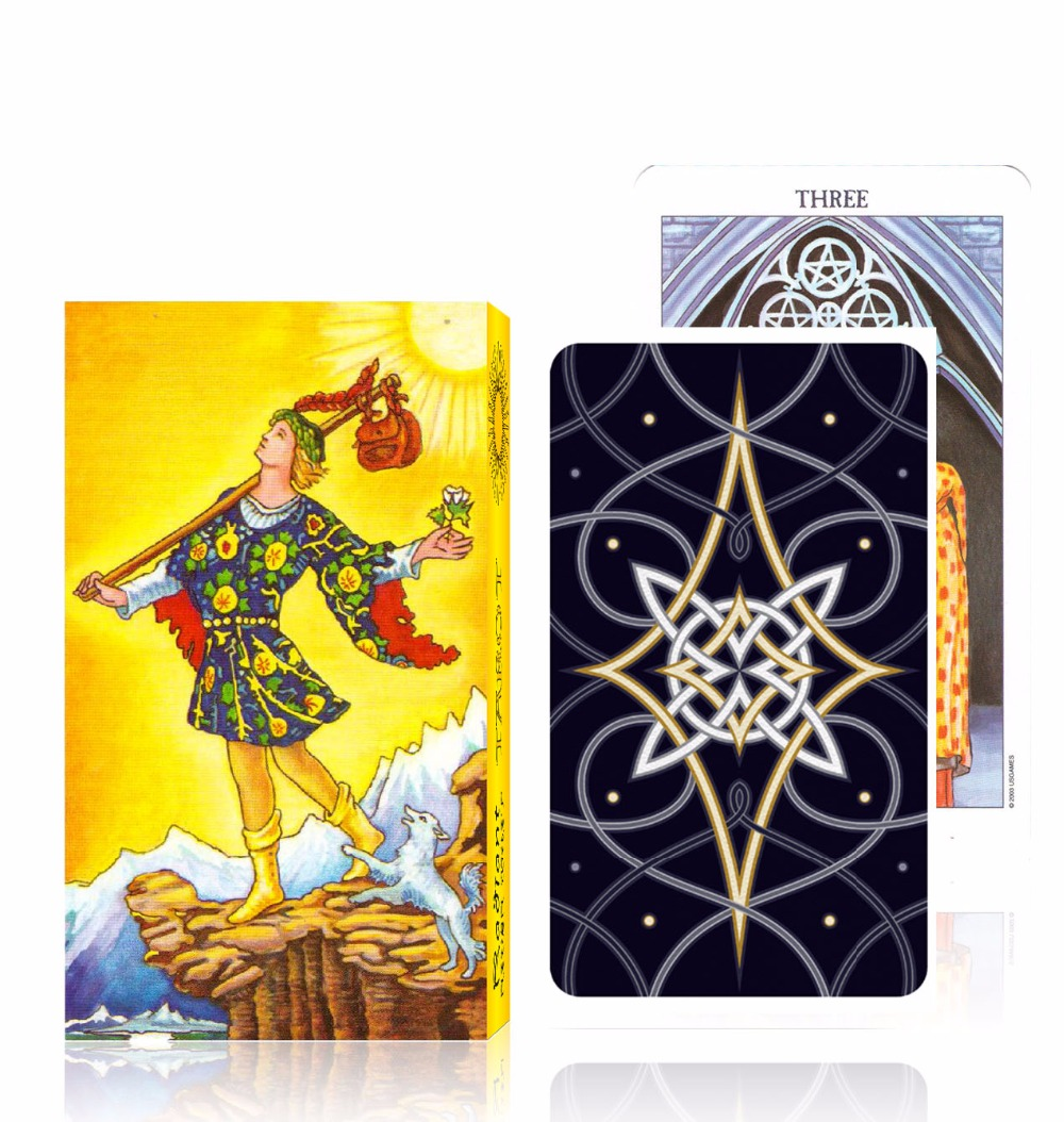 Full English version rider tarot deck most popular tarot cards high quality board game board game risk full english version high quality very suitable for the party