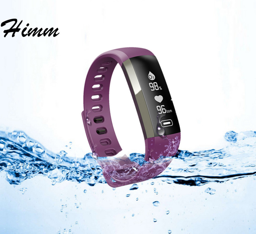 himm M2P M2 PRO Smart Band Heart Rate Blood Pressure Oxygen Pulse Meter Fitness