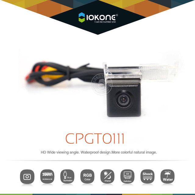 Cámara de visión trasera para Peugeot 3008 308 408 508 Citroen C5 C2 visión nocturna cámara de reserva de marcha atrás CCD 170 ángulo de la lente HD