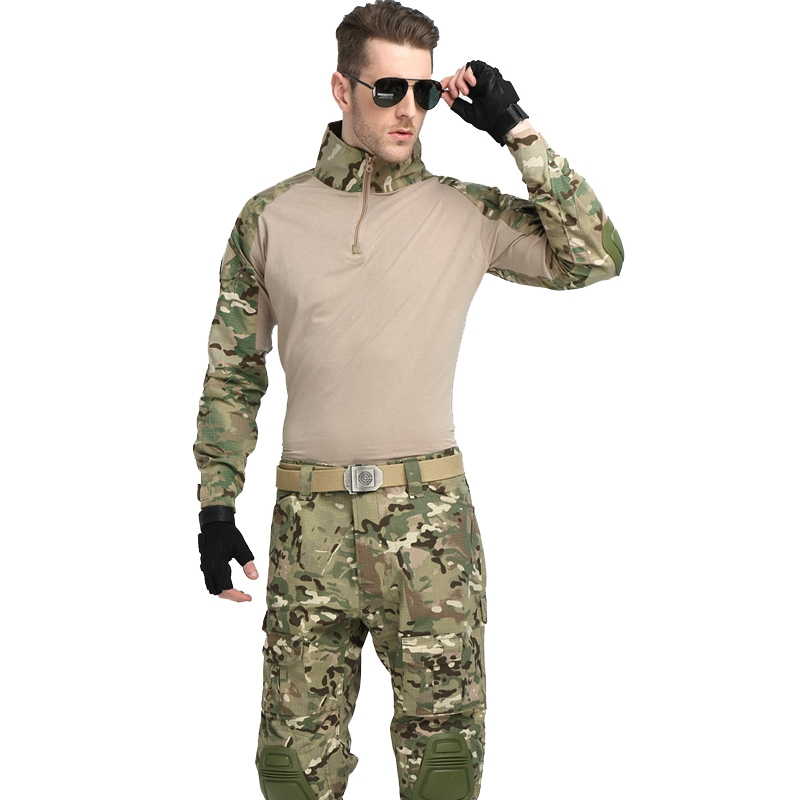 цена Kryptek Mandrake bdu G3 uniform shirt & Pants airsoft painball combat tactical military uniform