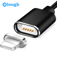Elough E03 Magnetic Cable Magnetic Charger For 8 Pin Apple iPhone 5 6 6S 7 Plus Fast Charge Magnet Charger USB Cable Wire Cord
