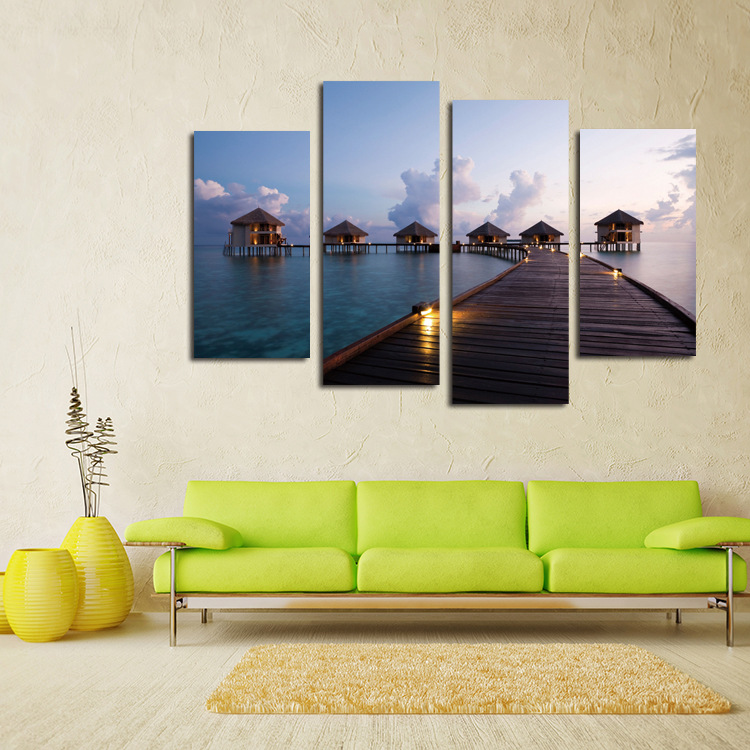 Muur Plank Voor Schilderijen.Hd Geschilderd Canvas Schilderijen Abstract Muur Foto Voor Living