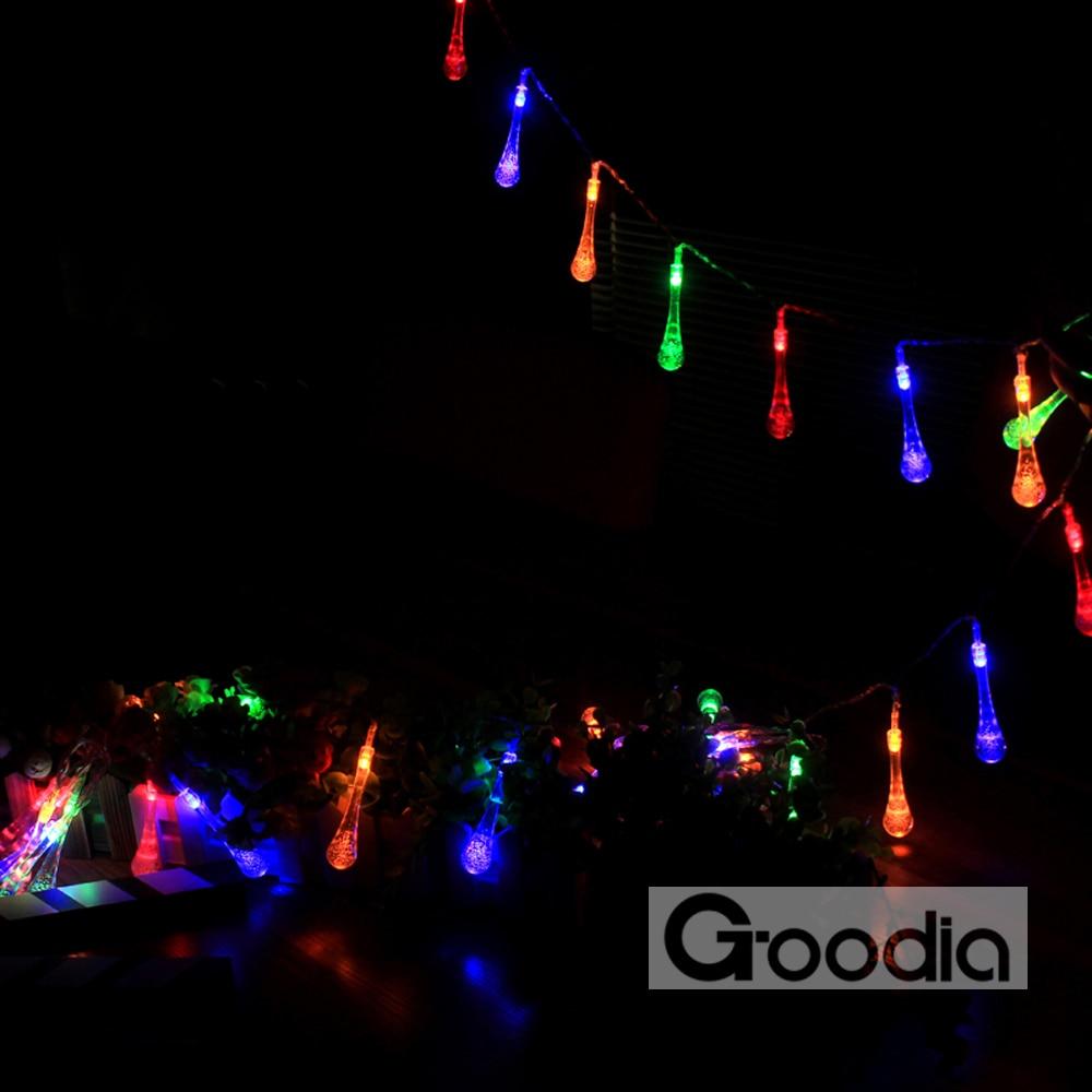 4.3M ledd lys med 40led ball AA batterier ferie dekorasjon lampe - Ferie belysning - Bilde 3