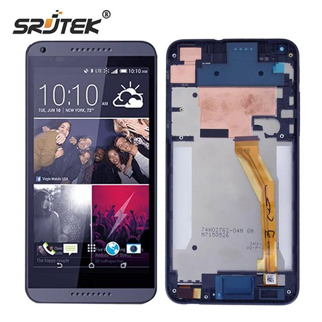 Srjtek для HTC Desire 816 ЖК-дисплей Дисплей Сенсорный экран планшета с Рамки ЖК-дисплей ремонт Запчасти D816 D816G 816 Вт 816 г 816 H Инструменты