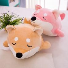 2018 Soft Dog Toy Sleeping Pillow Down Cotton Plush Akita Toys Birthday Present Creative Dolls Girlfriend Birthday Gifts creative 3d akita home decoration dog shape design pillow