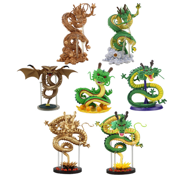 Us 5 02 24 Off 7styles Dragon Ball Z Shenron Shenlong Mega Classic Wcf Gold Super Shenron Pvc Action Figure Cartoon Collection Model Toy Doll In