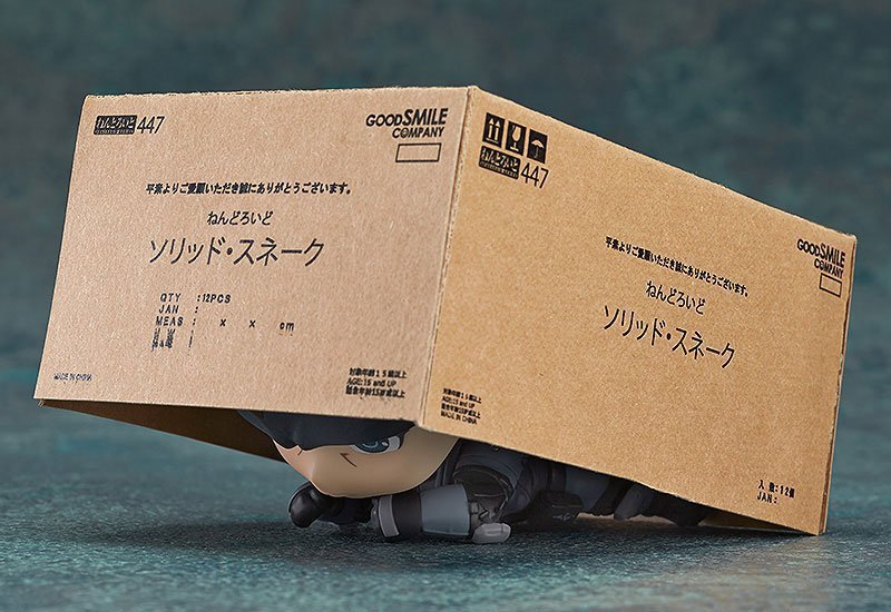 Nendoroid 447 METAL GEAR SOLID Solid Snake Figure Good Smile Company F//S