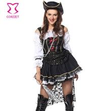 Pirata sexy traje de Halloween Disfraces sexy de mujer para adultos Cosplay  mujeres carnaval fiesta swashbuckler 60ab80cb7e4