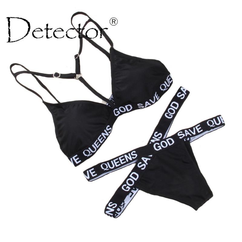 Detector Women Bikini Set Newest Padded Bikinis Sexy Push Up Swimwear Female Swimsuit Bathing Suit Brazilian
