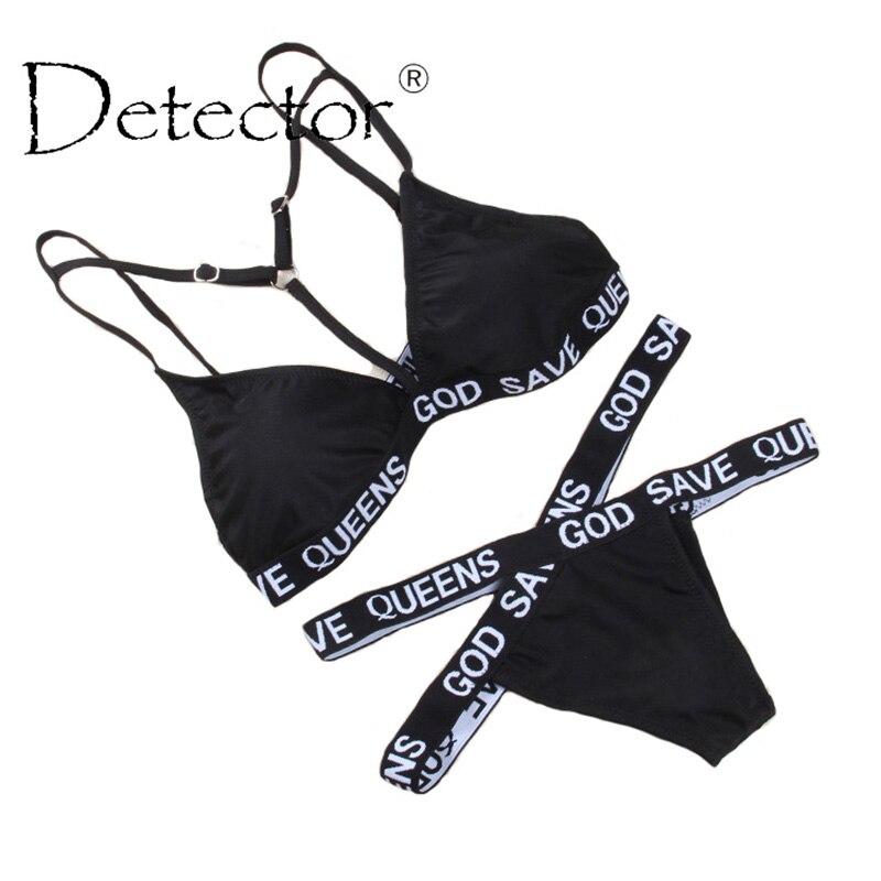 Detector Women Bikini Set Newest Padded Bikinis Sexy Push Up Swimwear Female Swimsuit Bathing Suit Brazilian Bandage Biquini