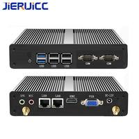 Процессор intel nuc безвентиляторный мини ПК x86 Процессор J1900 4 ядра промышленный компьютер