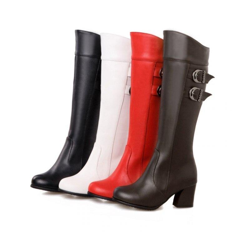2017 Hot Sale Boots Shoes Woman Fashion Motocicleta Mulheres Martin Outono Inverno Botas De Couro Boots Femininas Women Hq133 женские блузки и рубашки hi holiday roupas femininas blusa blusas femininas