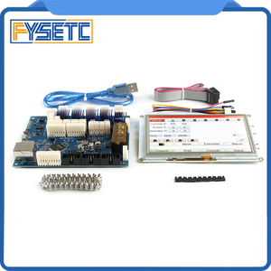 Image 3 - Усовершенствованная 32 битная Электроника Clone Duet 2 Maestro с 7 дюймовыми 7 дюймовыми встроенными цветными сенсорными контроллерами PanelDue 7i