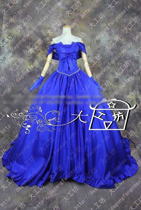 춤과 악마 다치바나 리츠 카 빈티지 코트 드레스 코스프레 의상 할로윈 유니폼 복장 맞춤 제작