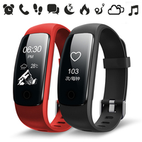 Hembeer ID107 Plus HR Smart Band Fitness Tracker Smartwatch with Heart Rate Monitor Bracelet Watches For xiaomi xiomi pk fitbits