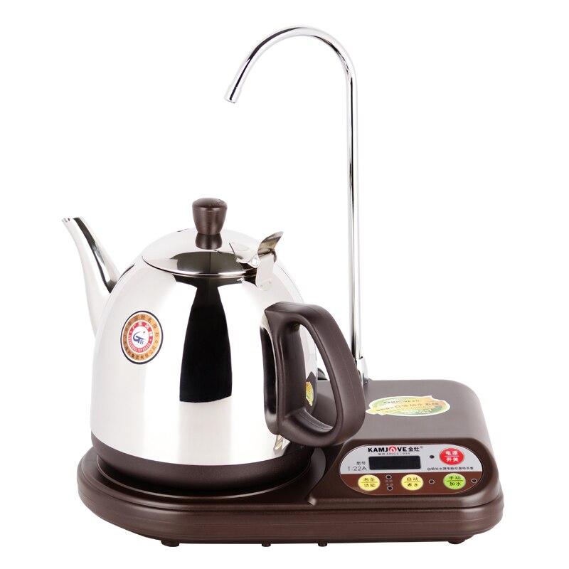 Бесплатная доставка Kamjove T-22A электрическое отопление чайник/чай горшок микропроцессор чайный набор с контролем температуры