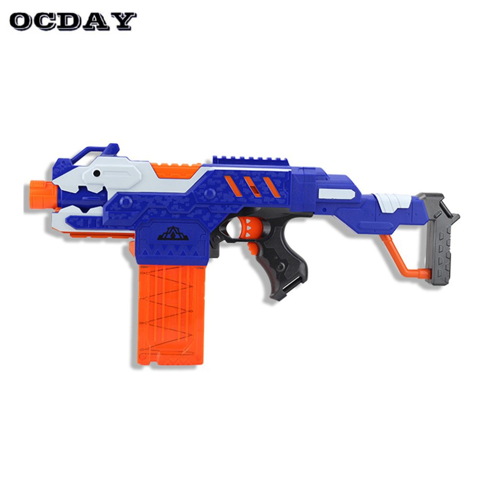 Q026 Electric Soft Bullet Gun Serial Shooting Target Gun Toy Plastic Detachable Rifle Guns Funny Plaything for Children Gifts ...