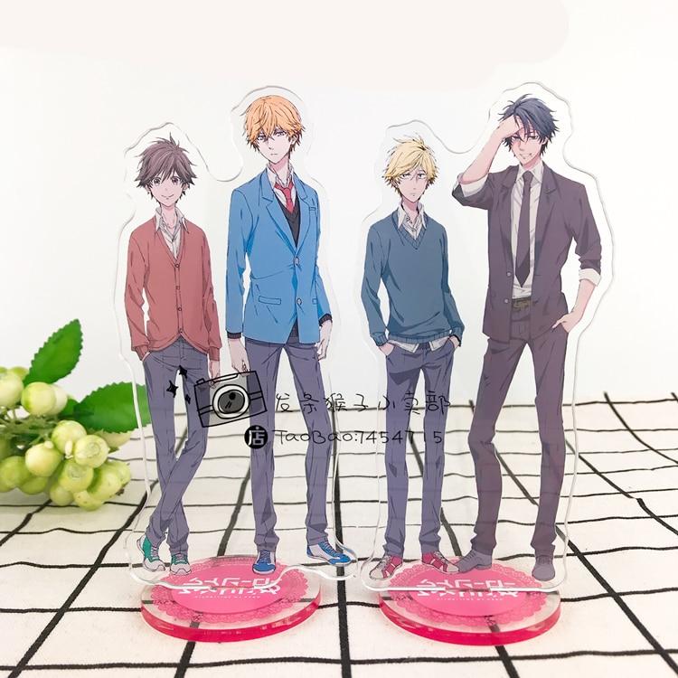 Japanese Anime Hitorijime My Hero Setagawa Masahiro Hasekura Asaya Acrylic Stand Figure 15cm Cosplay Desk Decor Gift